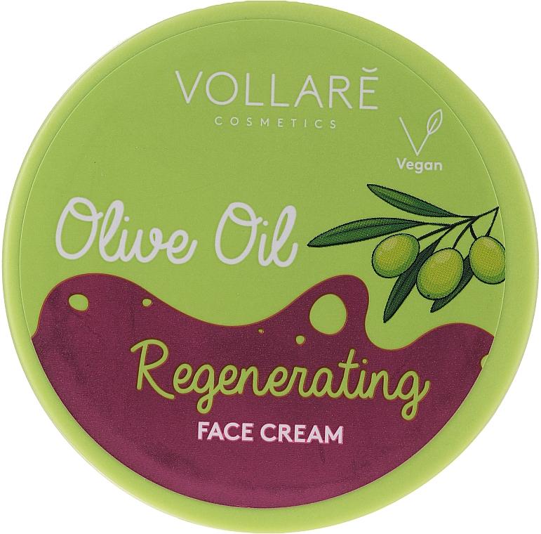 Crema rigenerante all'olio d'oliva - Vollare Regenerating Olive Oil Face Cream
