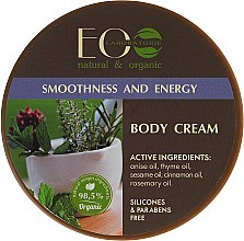 "Profumi e cosmetici Crema corpo ""Levigatezza e Tono"" - Eco Laboratorie Smoothness and Tonus Body Cream"