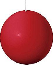 Profumi e cosmetici Candela a sfera, rossa, 80 mm - Bolsius Candle