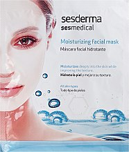 Profumi e cosmetici Maschera idratante viso - SesDerma Laboratories Sesmedical Moisturizing Face Mask