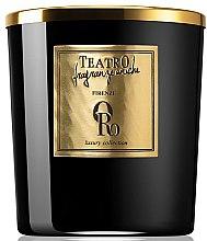 Profumi e cosmetici Candela profumata - Teatro Fragranze Uniche Luxury Collection Oro Scented Candle