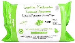 Profumi e cosmetici Salviette umidificate biodegradabili per bambini - Alphanova Bebe