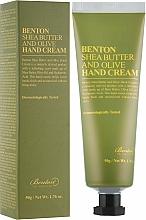Profumi e cosmetici Crema mani al burro di karitè e olive - Benton Shea Butter and Olive
