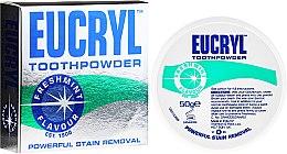 Profumi e cosmetici Polvere per denti - Eucryl Toothpowder Freshmint