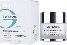 Profumi e cosmetici Crema idratante per pelli secche - Gigi Bioplasma Moist Dry SPF-20