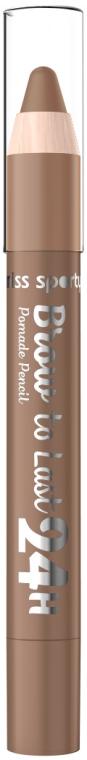 Pomata pe sopracciglia - Miss Sporty Brow To Last 24h Pomade Pencil