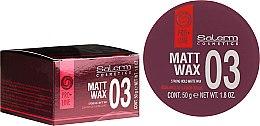 Profumi e cosmetici Cera per capelli - Salerm Matt Wax