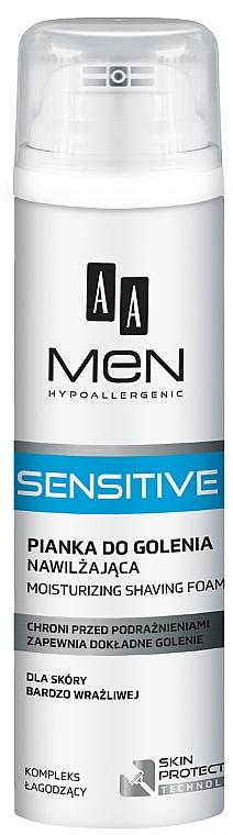 Schiuma da barba - AA Men Sensitive Moisturizing Shaving Foam