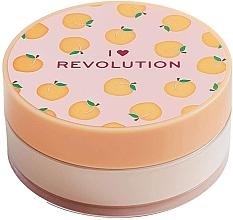 """Profumi e cosmetici Cipria sfusa """"Pesca"""" - I Heart Revolution Loose Baking Powder Peach"""