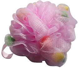 Profumi e cosmetici Spugna a rete per doccia, multicolor - Gabriella Salvete Body Care Mesh Massage Bath Sponge