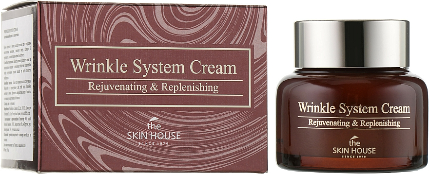 Crema antietà al collagene - The Skin House Wrinkle System Cream