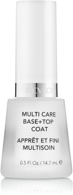 Base+toap coat - Revlon Multi Care Base Top Coat — foto N1