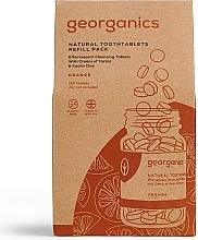 """Profumi e cosmetici Compresse per la pulizia dei denti """"Orange"""" - Georganics Natural Toothtablets Orange (unità sostituibile)"""