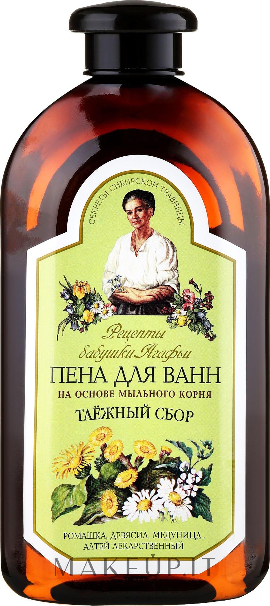 Bagnoschiuma con radice di saponaria per pelli problematiche - Ricette di nonna Agafya — foto 500 ml