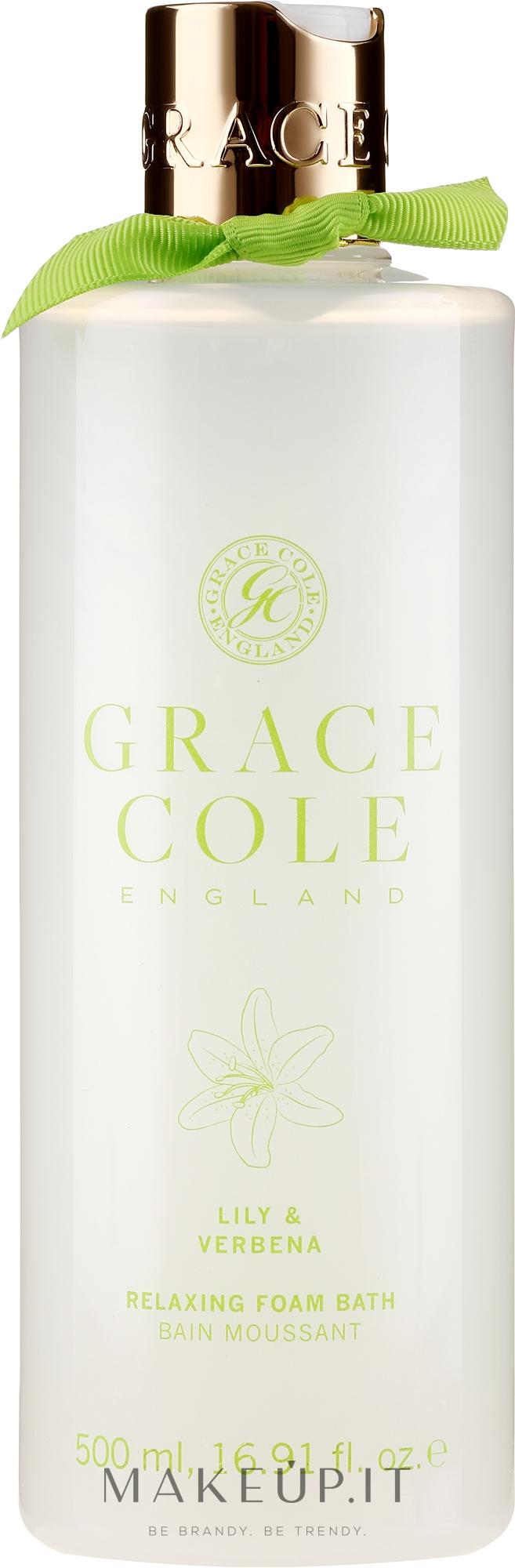 "Bagnoschiuma ""Giglio e Verbena"" - Grace Cole Lily & Verbena Foam Bath — foto 500 ml"