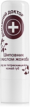Profumi e cosmetici Balsamo labbra con olio di jojoba e rosa canina - Domashnyi Doctor