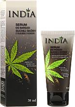 Profumi e cosmetici Siero viso e mani per pelle molto secca - India Serum For Very Dry Skin With Cannabis Oil
