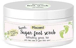Profumi e cosmetici Scrub piedi allo zucchero, con estratto di tè verde - Nacomi Sugar Foot Scrub