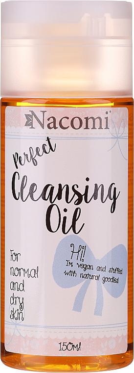 Olio struccante per la pelle normale e secca - Nacomi Cleansing Oil Make Up Remover