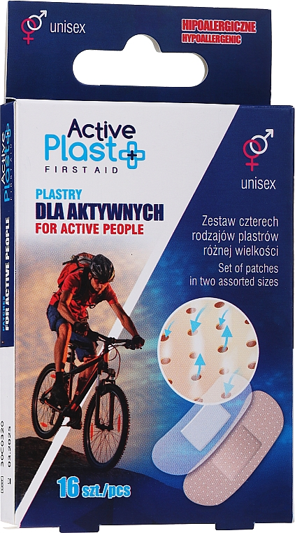 Set cerotti - Ntrade Active Plast First Aid For Active People Patches — foto N1