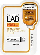 Profumi e cosmetici Maschera viso alla bava di lumaca - Tony Moly Master Lab Snail Mucin Mask