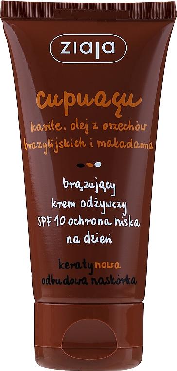Crema nutriente abbronzante SPF 10 - Ziaja Cupuacu Bronzing Nourishing Day Cream Spf 10