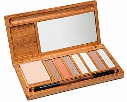 Profumi e cosmetici Palette di ombretti - Alilla Cosmetics Nude Palette