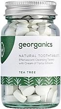 "Profumi e cosmetici Pastiglie per la pulizia dei denti ""Tea tree"" - Georganics Natural Toothtablets Tea Tree"