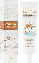 Profumi e cosmetici Crema contorno occhi alla bava di lumaca - Esfolio Nutri Snail Daily Eye Cream