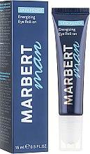 Profumi e cosmetici Siero contorno occhi - Marbert Man Skin Power Energizing Eye Roll-on