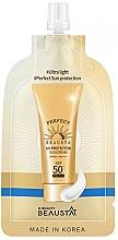 Profumi e cosmetici Crema solare viso SPF50 - Beausta UV Protector Sunscreen SPF50