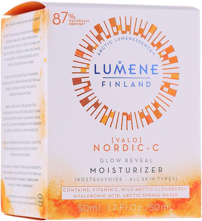 Crema illuminante idratante, da giorno - Lumene Valo [Light] Glow Reveal Moisturizer