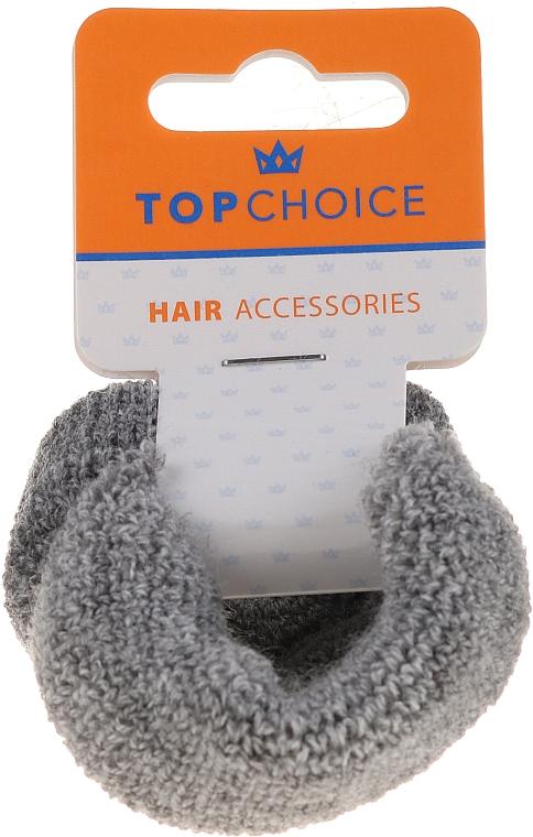 Elastici per capelli 2 pezzi, 66481, grigio - Top Choice — foto N1