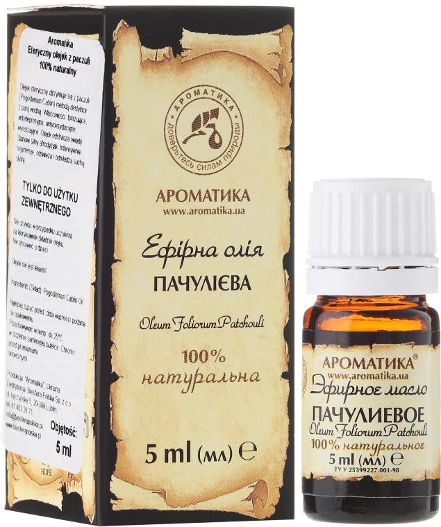 """Olio essenziale """"Patchouli"""" - Aromatika — foto N1"""