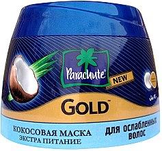 """Profumi e cosmetici Maschera-crema con cocco """"Extra Nutrition"""" per capelli indeboliti - Biofarma Parachute Gold Coconut Hair Mask"""