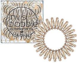 Profumi e cosmetici Elastici a spirale per capelli - Invisibobble Original Bronze Me Pretty