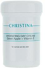Profumi e cosmetici Crema da giorno idratante alla mela verde e vitamina E - Christina Hydrating Day Cream Green Apple