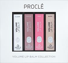 Profumi e cosmetici Set di rossetti voluminizzanti - Procle Volume Lip Balm (lip/balm/3.5g x 4)