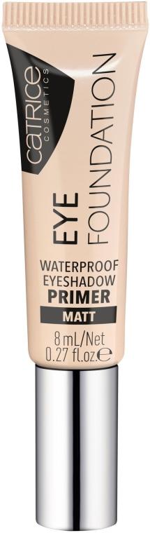 Primer impermeabile per palpebre - Catrice Eye Foundation Waterproof Eyeshadow Primer