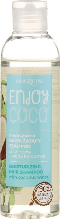 Shampoo idratante intensivo con acqua di cocco - Marion Enjoy Coco Intensive Moisturizing Shampoo — foto N1