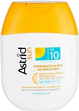 Profumi e cosmetici Latte idratante protezione solare SPF 10 - Astrid Sun Moisturizing Suncare Milk