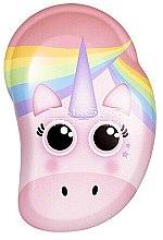 Profumi e cosmetici Spazzola per capelli, per bambini - Tangle Teezer The Original Mini Children Detangling Hairbrush Rainbow The Unicorn