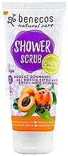 """Profumi e cosmetici Scrub doccia """"Albicocca e sambuco"""" - Benecos Natural Care Apricot & Elderberry Shower Scrub"""