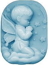 "Profumi e cosmetici Sapone alla glicerina ""Baby carezza"" - Bulgarian Rose Glycerin Fragrant Soap Blue Angel"