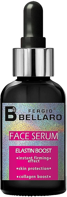 Siero viso con elastina - Fergio Bellaro Face Serum Elastin Boost