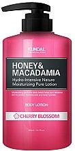 """Profumi e cosmetici Lozione corpo """"Fiori di ciliegio"""" - Kundal Honey & Macadamia Body Lotion Cherry Blossom"""