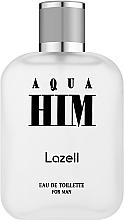 Profumi e cosmetici Lazell Aqua Him - Eau de toilette