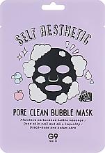 Profumi e cosmetici Maschera viso in tessuto a bolle - G9Skin Self Aesthetic Poreclean Bubble Mask
