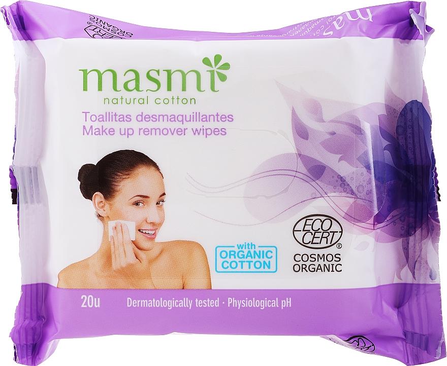 Salviettine struccanti - Masmi Natural Cotton
