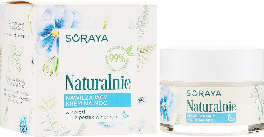 Crema idratante viso - Soraya Naturalnie Night Cream